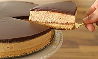 The Easiest No-Bake Peanut Butter Cheesecake Recipe