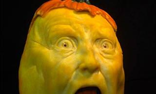 Jon Neill's Pumpkin Carvings