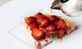 This Strawberry Tart Is Perfection Exemplified