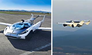 Take a Ride on the World's First Commercial Flying Car