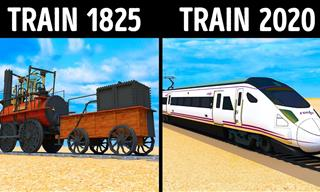 The Fascinating Transformation of Trains through the Ages