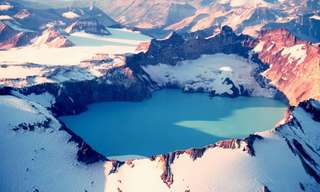Stunning Crater Lakes of the World