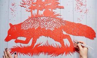 Beautiful Paper Cut Art by Eugina Zoloto