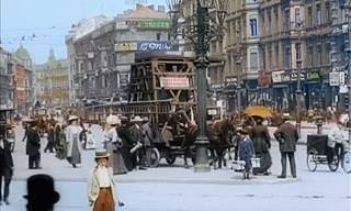 Footage From Famous Cities From 100 Years Ago