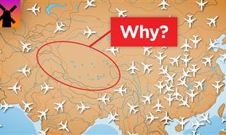 Why Planes Never Fly Over Tibet