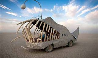 15 Art Cars Featured at the Burning Man Festival