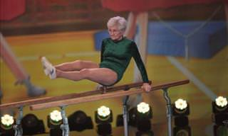 The 86-Year-Old Gymnast