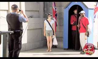 The Queen's Guard are Master Prankers!