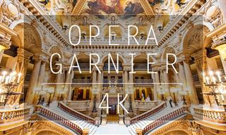 Enjoy a Tour of a Stunning Opera House...