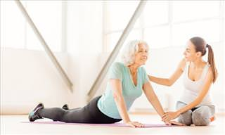 Yoga Poses to Soothe Osteoarthritis