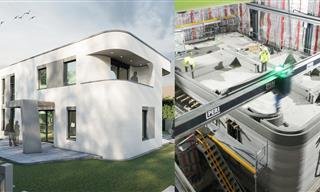 A 3D Printed HOUSE - Incredible!