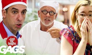 Funny: The Best Food Pranks Compilation!