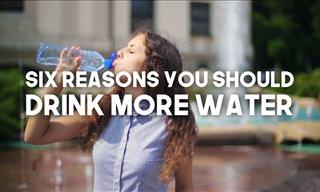6 Reasons Why You Should Drink More Water