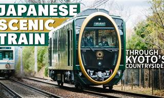Take a Countryside Trip of Japan in This Beautiful Train