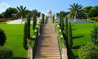 Discover the Hanging Gardens of Haifa