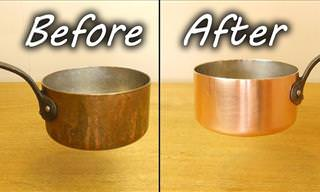 This Is How to Effortlessly Clean Copper Pans