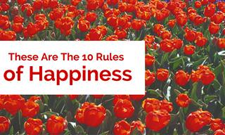These Are The 10 Rules of Happiness