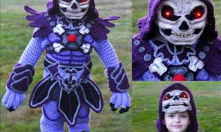 Incredibly Spooky Crochet Costumes Created by Talented Artist