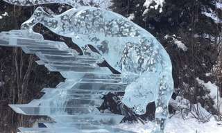 Incredibly Intricate Ice Sculptures - #9 Blew My Mind!