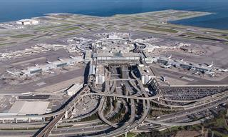 The True Scale of the World's Largest Airports Is SHOCKING