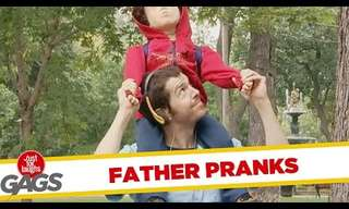 A Hilarious Compilation of 'Dad Pranks'