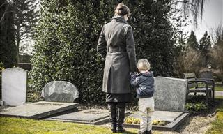Joke: The Little Boy and the Gravestones