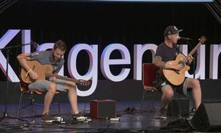 This Duo Has A Spectacular Approach to Playing Guitar