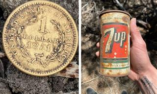 21 Incredible Items Unearthed by Metal Detectors