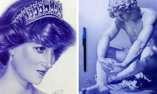 These Drawings Can Be Easily Mistaken For Photographs