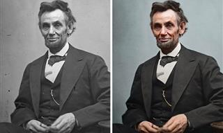 25 Colorized Portraits of US Presidents Who Lived Long Before Colored Photography