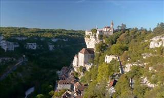 A Tour of Rocamadour, France