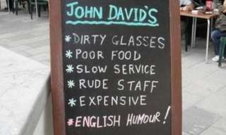Let the Signs Do the Talking - Hilarious!