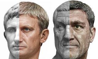 Artist Creates Realistic Portraits of Roman Emperors!