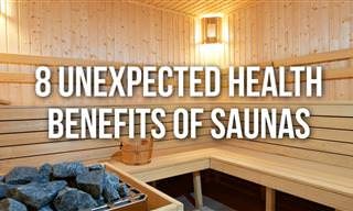 8 Unexpected Health Benefits of Taking a Sauna