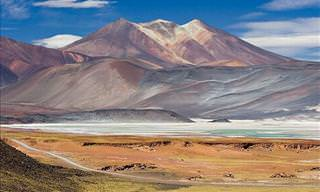 The Beautiful Scenery of the Atacama Desert