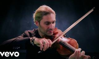 As He Plays the Violin, My Heart Skips a Beat...