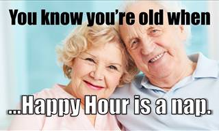 How to Tell If You Are Officially Old