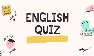 QUIZ: Take Our General English Quiz!