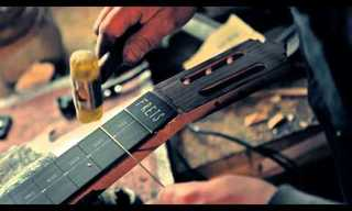 The Art of Making a Beautiful Guitar is Simply Enchanting