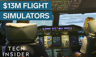 Take a Trip in a Flight Simulator Worth $13 Million