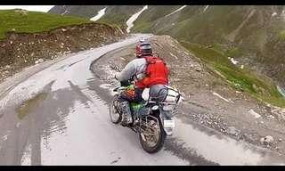 Biking Through the Himalayas - Incredible!