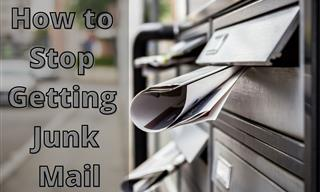 There is a Way to Stop The Flood of Pesky Junk Mail