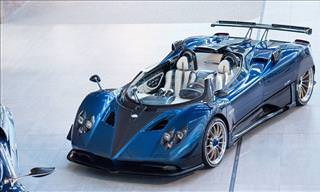 The 1-of-3 Pagani Zonda HP Barchetta