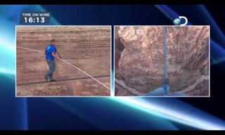 The Man Who Tight-Roped Across the Grand Canyon!