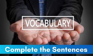 quiz: Identify the Correct Word