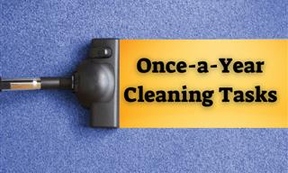 7 Cleaning Tasks You Have to Tackle Just Once Annually