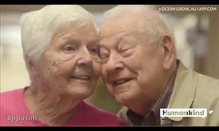 Elderly Couple Shows Us It's Never Too Late to Find Love