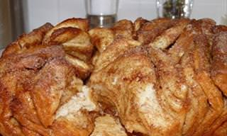 Mouthwatering Cinnamon Pull-Apart Bread