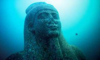 This Ancient Egyptian City Was Found Underwater...