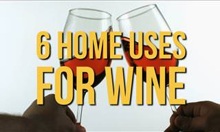 6 Practical Home Uses for Wine